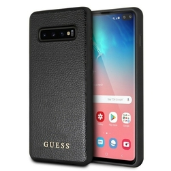 GUESS Etui Hardcase GUHCS10IGLBK Samsung G973 S10 czarny Iridescent