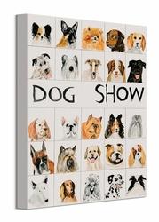 Dog Show - obraz na płótnie