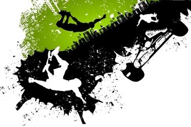 Fototapeta skateboarding 2688