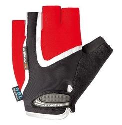 Rękawiczki chiba gel air czerwone