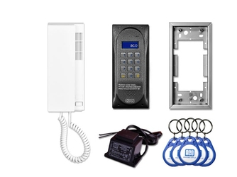 Domofon aco cdnp6acc dla 1 lokatora. - możliwość montażu - zadzwoń: 34 333 57 04 - 37 sklepów w całej polsce
