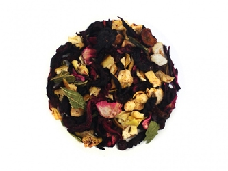 Herbata poziomkowo-waniliowa 50g - herbata owocowa