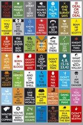 Keep calm and watch tv - plakat