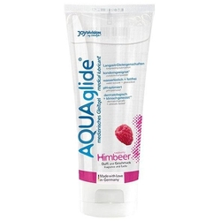 Lubrykant smakowy - joydivision aquaglide lubricant raspberry 100 ml