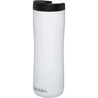 Biały kubek termiczny ze stali nierdzewnej aladdin leak-lock™ 0,47 litra 10-08543-005