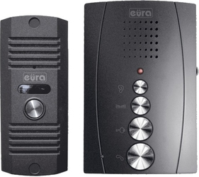 Eura adp-12a3 invito domofon głośnomówiący, bezsłuchawkowy, dwie słuchawki  - możliwość montażu - zadzwoń: 34 333 57 04 - 37 sklepów w całej polsce