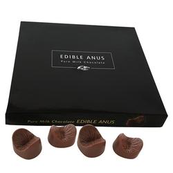 Jadalne czekoladki odbyty pupy - edible anus chocolates