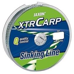 Plecionka jaxon xtr carp sinking line 25lbs 10m brązowa