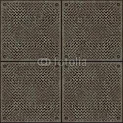 Board z aluminiowym obramowaniem tekstura metalu