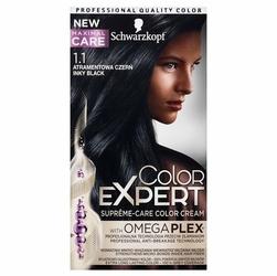 Schwarzkopf, Color Expert, farba do włosów, 1.1 Atramentowa Czerń