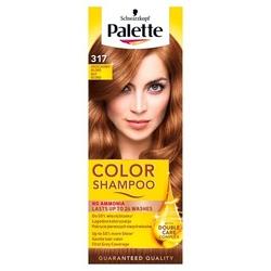 Palette color shampoo, koloryzujący szampon, 317 orzechowy blond
