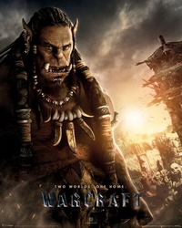 Warcraft początek - durotan - plakat