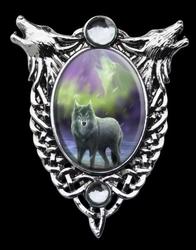 Aura wolf - seria: enchanted cameos anne stokes