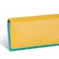 Duży portfel damski valentini colors z portomonetką - zielony