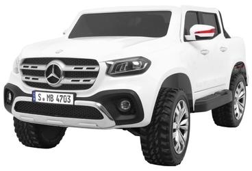 Mercedes-benz x class biały mp3 dwuosobowy samochód na akumulator