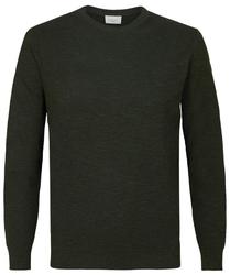 Pullover ze ściągaczem zielony s
