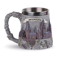 Harry potter hogwarts school - metalowy kubek 3d