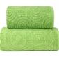 Emma 2 zielony ręcznik bawełniany greno