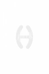 Julimex klips ściągający ramiączka ba 11 biały