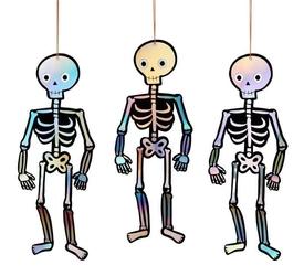 Ozdoba wisząca szkielet, meri meri