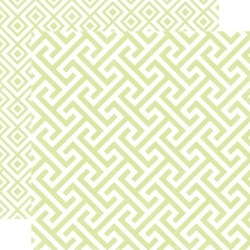 Papier 30,5x30,5 cm Style EssentialSprig geometri - 006