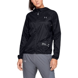 Kurtka damska under armour qualifier storm packable jacket - czarny