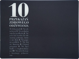 Deska szklana anna lewandowska 10 przykazań