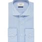 Elegancka błękitna koszula męska profuomo sky blue - smart shirt 37