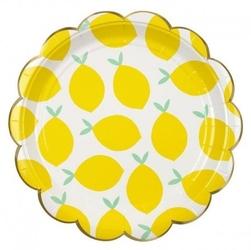 Meri meri - duże talerzyki cytryny