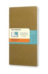 Notes Moleskine Chapters Journal P oliwkowy w linie