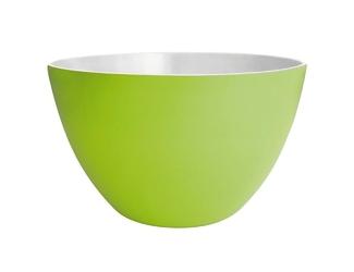 Dwukolorowa salaterka zielona 18 cm zak designs