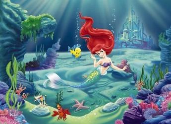 fototapeta Disney Syrenka Ariel 4463