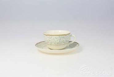 Filiżanka do herbaty 0,22 l ze spodkiem - CASTEL S-01217
