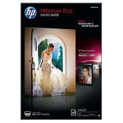 Papier fotograficzny HP Premium Plus, błyszczący – 20 arkuszyA3297 x 420 mm