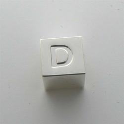 Litera D - kostka