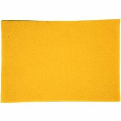 Dekoracyjny filc A4 - żółty - ŻÓŁ