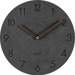 Zegar ścienny Dura antracytowy