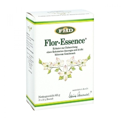 Esencja herbaciana z kwiatów