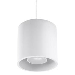 Sollux - lampa wisząca orbis 1 - biała