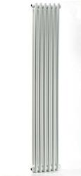 Grzejnik pokojowy retro - 2 kolumnowy, 1500x400, białyral - biały