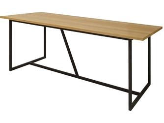 Stół do jadalni Fletto M 160x90 cm industrialny