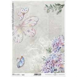 Papier ryżowy ITD A4 R1060 bez kwiaty