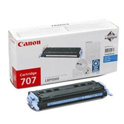 Toner Oryginalny Canon CRG-707 C 9423A004 Błękitny - DARMOWA DOSTAWA w 24h