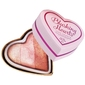 Makeup revolution iced hearts wypiekany róż do policzków 10g