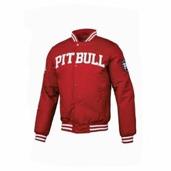 Kurtka zimowa Pit Bull West Coast Padded Varsity Jacket Herson Red - Red