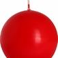 Bispol, Sk80, Świeca kula, czerwona, 1 sztuka