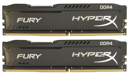 HyperX DDR4 HyperX Fury Black 8GB266624GB CL15