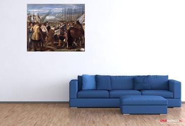 poddanie bredy - diego velazquez ; obraz - reprodukcja