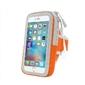 Opaska etui na ramię do biegania na telefon 5,5 - pomarańczowa