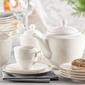 Serwis  zestaw kawowy dla 12 osób porcelana mariapaula ecru queen